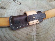 knife sheath - lovely neat details.