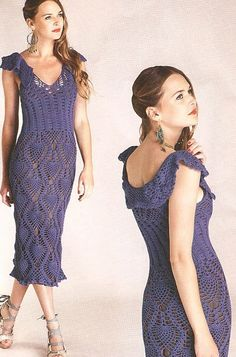 Elegant crochet women summer  dress