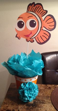 Finding Nemo 1st Birthday Party | CatchMyParty.com