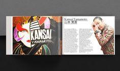 Kansai Yamamoto Editorial on Behance