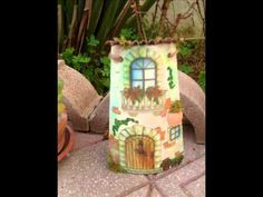 Tegole Decoupage - YouTube