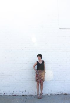 DIY Paisley Baseball Skirt   Sew DIY