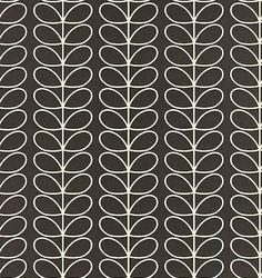Linear Stem wallpaper by Orla Kiely