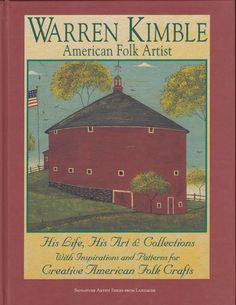 Warren Kimble American Folk Artist Inspriations and by 7thStash, $8.95