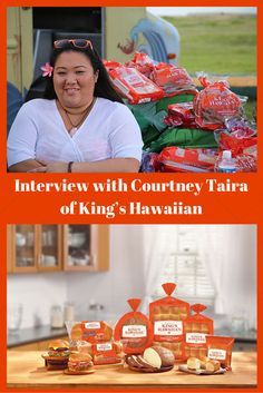 My interview with +King's Hawaiian founder Robert Taira granddaughter Courtney Taira. If you have ever eaten a slider then you probably have had it on a King's Hawaiian sweet roll!  Read more about her family history, food truck happenings and favorite recipes.