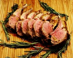 Moveable Feasts: Ina's Rack of Lamb