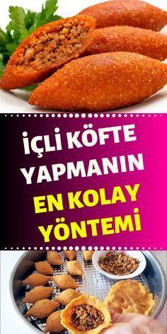 Yummy Snacks, Snack Recipes, Stuffed Dumplings, How To Make Meatballs, Making Meatballs, Turkish Breakfast, Turkish Recipes, Mac And Cheese, Food Design