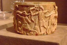 "https://flic.kr/p/36jkXx | Ivory Pyx depicting the triumph of Dionysos in India Byzantine found in Rome made mid 500s CE possibly in Syria | Photographed at the <a href=""http://www.metmuseum.org/"" rel=""nofollow"">Metropolitan Museum of Art</a> in New York City, New York."