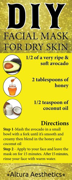 Winter is tough on our skin, often leaving our face feeling dry and tight. This is a problem because dry, tight skin can quickly become cracked, painful, peeling skin if it isn't re-hydrated – which is something no one wants, especially as they get ready for the holidays. To combat, dry, cracked, peeling skin we recommend trying this DIY Avocado & Honey Mask for dry skin!