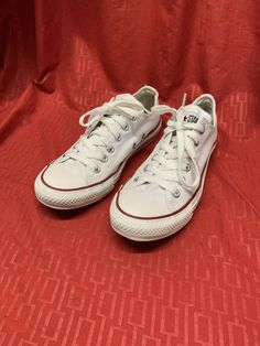 28fdbdc6ce8589 All Star White Converse Shoes Unisex Men s 5.5 Ladies 7.5 good condition   fashion  clothing