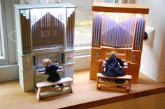 Etsy の Miniatur-Orgelmodelle in Handarbeit by miniaturmanufactur