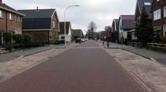 Smog-eating street : On Castorweg Street in Hengelo, Netherlands, researchers have installed paving blocks treated with smog-eating titanium oxide. (Science Direct)