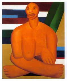 Artes do A'Uwe: Obras de Tarsila do Amaral