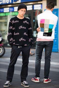 Street looks à la Fashion Week homme printemps-été 2016 de Paris 60