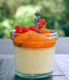La véritable Panna cotta de Marie Claire sans gélatine, abricots rôtis à la vanille : l'abricot saison 2