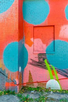 The colorful exterior of the Blind Whino, a private arts space in Southwest Washington, DC.    #Photography #AlexTonettiPhotography