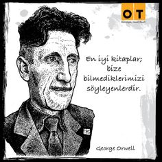 George Orwell, Love Book, Karma, Good Books, My Love, Words, Quotes, Fictional Characters, Poster