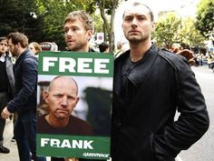 Embassy rally by A-listers for Greenpeace Six - Green Living - Environment - The Independent