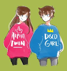 Discovered by Heidi. Find images and videos about twins, gravity falls and mabel on We Heart It - the app to get lost in what you love. Dipper And Mabel, Mabel Pines, Dipper Pines, Billdip, Desenhos Gravity Falls, Grabity Falls, Gravity Falls Au, Low Gravity, Reverse Falls