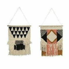 40% Off - These stunning wall hangings by General Eclectic are a great size at 47cm x 38cm. They really are a piece of art - The perfect piece for a striking yet simple decor wall decor. WAS $119 and NOW $69. Sale last day tomorrow! Everything is up to 50% off. . http://ift.tt/2ni7VIF . #generaleclectic #wallhanging #macrame #nz #Newzealand #wallhanging #forkeepsstore #homeware #decor #bargain #homedecor #handcrafted #handmade #love #sale #pricedtoclear #gift #giftideas #NZ #designedinNZ…
