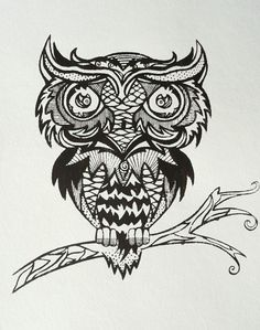 steam punk owl..