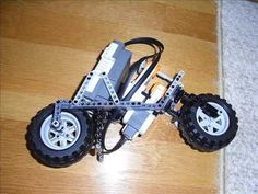Lego mindstorms NXT Motorcycle 2 - YouTube