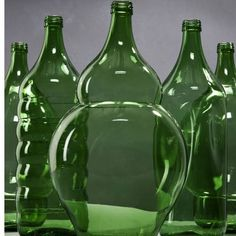 Bottles by Klaas Kuiken #homedecor #decoration #home #green