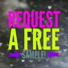 Samples! Click on the picture and it will take you to my request form Jamberry Nail Wrap!
