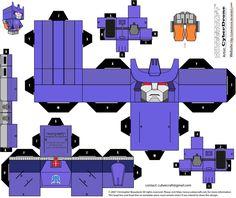 Cubee - Galvatron 'G1' by CyberDrone.deviantart.com on @deviantART