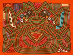 Mola es un arte textil que los indígenas Kunas ,en Panamá,realizan.Para su confección se sobreponen capas de telas cosidas entre sí y se definen diseños donde contrastan formas y colores.