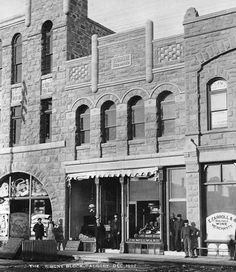 Tribune Block was home to the Calgary Tribune, one of Calgary's first newspapers. This building is now home to the Trib Steakhouse.