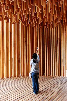 Temporary Pavilion by David Adjaye for London Design Festival