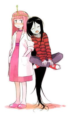 princess bubblegum x marceline - Google Search