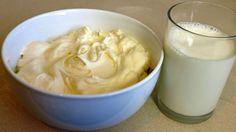 Cómo convertir leche en nata (crema batida)