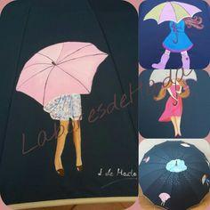 Paraguas personalizado  para días de lluvia