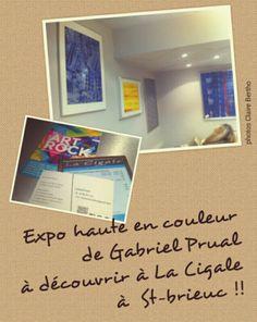 Exposition HEURESNOMADES  Bar La Cigale ~ Saint-Brieuc   *visite / photo Claire Bertho