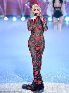 Lady Gaga - Victoria's Secret Fashion Show - November 2016