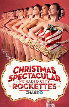 Christmas Spectacular Starring The Radio City Rockettes, Radio City Music Hall, NYC Show Poster Rockettes Christmas, New York Christmas, Christmas Travel, Christmas Time, Holiday, Christmas Gifts, Christmas Decorations, Broadway Show Tickets, Broadway Shows