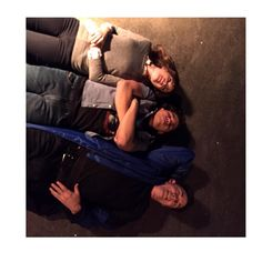 #tbt to laying on the floor of the cortex with Carlos & @cavanaghtom (episode 16 I think?) I also recently discovered that this is the background on Carlos' phone. And that makes me very happy #TheFlash