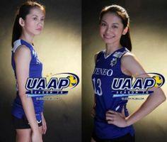 "UAAP season best receiver - Dennise ""denden"" Lazaro Libero of Ateneo de Manila University Women Volleyball, Volleyball Players, Iron Eagle, My Crush, Manila, Athletes, Crushes, Idol, University"