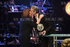 Peter Capaldi and Abi Morgan at Bafta...