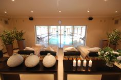 The Relaxation Lounge at Kievits Kroon's Winelands Spa