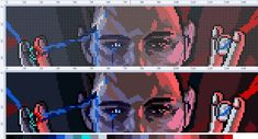 Pixel Art Templates, Perler Bead Templates, Beaded Cross Stitch, Cross Stitch Patterns, Minecraft Pixel Art, Minecraft Ideas, Stitch Games, Pixel Art Grid, Loom Beading