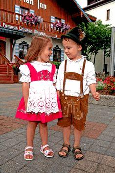Two young children showcase the true spirit of Michigan's Little Bavaria
