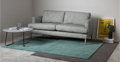 Jago, tapis 160 x 230 cm, bleu canard Furniture, Home Furnishings, Extra Large Rugs, Teal Rug, Shop Chair, Sofa Shop, Rugs, Rug Shopping, Furnishings