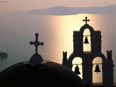 Santorini offers some of the most spectacular sunsets in the world