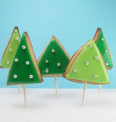 Christmas tree cookie forest 2