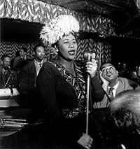 Ella Fitzgerald (1917-1996). Recognized as the best female jazz vocalist of the century as well as a pioneer in the area of jazz, Fitzgerald was respected worldwide by musicians and audiences alike.