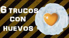 6 TRUCOS CON HUEVOS - http://cryptblizz.com/como-se-hace/6-trucos-con-huevos/