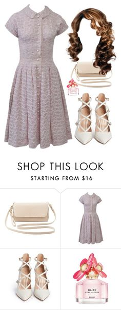 """""""Sin título #540"""" by mary-nava ❤ liked on Polyvore featuring Charlotte Russe, Gianvito Rossi and Marc Jacobs"""
